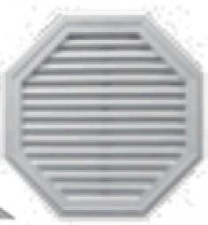 восьмиугольная вент. решётка 813мм, код 00 40 0032***, цвет любой